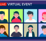 continue with Hybrid and Live Virtual Events